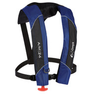 Onyx A\/M-24 Automatic\/Manual Inflatable PFD Life Jacket - Blue [132000-500-004-15]