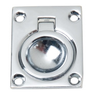 Perko Flush Ring Pull - Chrome Plated Zinc [0841DP0CHR]