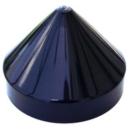 "Monarch Black Cone Piling Cap - 8.5"" [BCPC-8.5]"