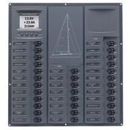BEP Cruiser Series DC Circuit Breaker Panel w\/Digital Meters 32SP DC12V [NC32Y-DCSM]