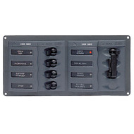 BEP AC Circuit Breaker Panel w\/o Meters, 4 Way Panel 2 Mains - 240V [900-AC1]