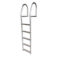Dock Edge Fixed Eco - Weld Free Aluminum 5-Step Dock Ladder [2075-F]