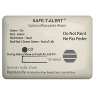 Safe-T-Alert 62 Series Carbon Monoxide Alarm - 12V - 62-541-Marine Surface Mount - White [62-541-MARINE]