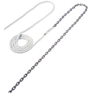 "Maxwell Anchor Rode - 20'-5\/16"" Chain to 200'-5\/8"" Nylon Brait [RODE51]"