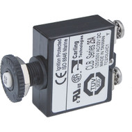 Blue Sea Push Button Reset Only Screw Terminal Circuit Breaker - 25 Amps [2135]