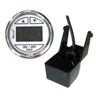 "Faria Chesapeake SS White 2"" Depth Sounder w\/Transom Mount Transducer [13850]"