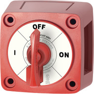Blue Sea 6004 Single Circuit ON-OFF w\/Locking Key - Red [6004]