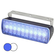 Hella Marine Sea Hawk XL Dual Color LED Floodlights - Blue\/White LED - Black Housing [980950061]