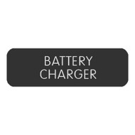 "Blue SeaLarge Format Label - ""Battery Charger"" [8063-0050]"