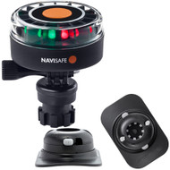 Navisafe Navilight 2NM Tricolor w\/Navimount Base  RIB Mount - Black [340KIT2]