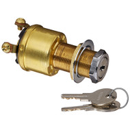 Cole Hersee 4 Position Brass Ignition Switch [M-712-BP]