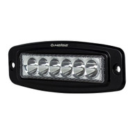 HEISE 6 LED Single Row Driving Light - Flush Mount [HE-FMDL1]
