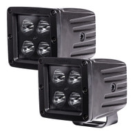 "HEISE Blackout 4 LED Cube Light - 3"" - 2 Pack [HE-BCL2S2PK]"