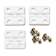 Cooler Shield Replacement Hinge f\/Coleman  Rubbermaid Coolers - 3-Pack [CA76313]