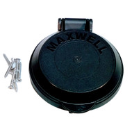 Maxwell Windlass Foot Switch Replacement Bezel Cover - Black [P104897]
