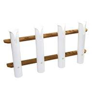 Whitecap Teak 4-Rod Tournament Storage Pack [63450]