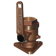 """GROCO 1"""" Bronze Flanged Full Flow Seacock [BV-1000]"""