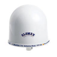"Glomex 10"" Dome TV Antenna w\/Auto Gain Control  Mount [V9126AGC]"