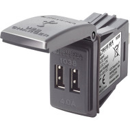 Blue Sea 1038 48V Dual USB Charger Contura Switch Mount [1038]
