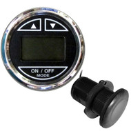 "Faria 2"" Depth Sounder w\/Thru-Hull Transducer - Chesapeake Black - Stainless Steel Bezel [13795]"