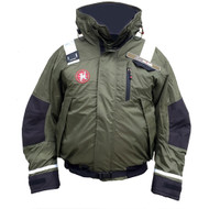 First Watch AB-1100 Pro Bomber Jacket - Small - Green [AB-1100-PRO-GN-S]