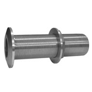 """GROCO 2"""" Stainless Steel Extra Long Thru-Hull Fitting w\/Nut [THXL-2000-WS]"""