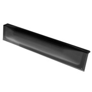 "Dock Edge Dock Bumper Straight Dock Guard - 18"" - Black [DE73107F]"
