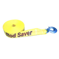 "Rod Saver Heavy-Duty Winch Strap Replacement - Yellow - 2"" x 20 [WSY20]"