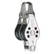Harken 22mm Double Micro Block w\/Becket- Fishing [227F]
