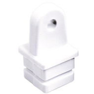 "Sea-Dog Nylon Square Tube Top Insert - White - 1"" [273581-1]"