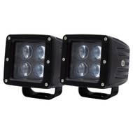 "Heise 3"" 4 LED Cube Light - 2-Pack [HE-ICL2PK]"