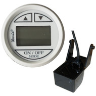 "Faria 2"" Depth Sounder w\/Transom Mount Transducer - Dress White w\/DS0114 Transducer [13150]"