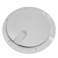 """Sea-Dog Pop-Out Textured Deck Plate - White - 8"""" [336282-1]"""