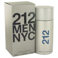 212 by Carolina Herrera Eau De Toilette Spray 6.8 oz (Men)