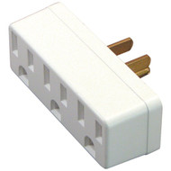 Axis 45090 3-Outlet Grounded Wall Adapter