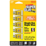 The Original SuperGlue 15175-12 Instant Adhesive Mini Tubes, 5 pk