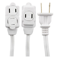 GE 51954 3-Outlet Extension Cord, 12ft