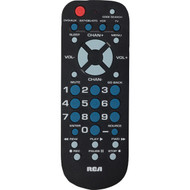 RCA RCR504BZ 4-Device Palm-Sized Universal Remote