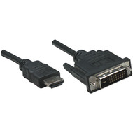 Manhattan 372503 HDMI to DVI-D Cable, 6ft