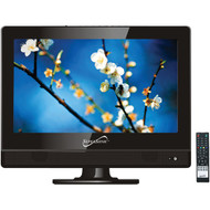 """Supersonic SC-1311 13.3"""" 720p LED TV, AC/DC Compatible for RV/Boat"""
