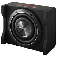 "Pioneer TS-SWX2002 8"" Preloaded Subwoofer Enclosure Loaded with TS-SW2002D2"