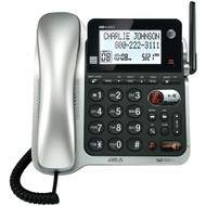 AT&T CL84102 DECT 6.0 Corded/Cordless Phone System with Digital Answering System & Caller ID/Call Waiting