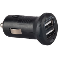 RCA MINIME2Z 2.1-Amp 2-Outlet DC to USB Mini Power Adapter