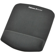 Fellowes 9252201 PlushTouch Mouse Pad Wrist Rest with FoamFusion