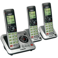 VTech VTCS6629-3 3-Handset DECT 6.0 Expandable Speakerphone with Caller ID