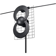 "Antennas Direct C2-V-CJM ClearStream 2V UHF/VHF Indoor/Outdoor DTV Antenna with 20"" Mount"