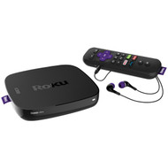 Roku 4661XB Refurbished Ultra Streaming Player with In-Ear Headphones