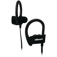 Billboard BB896 Bluetooth Earhook Earbuds with Microphone (Black)