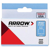 Arrow 225 P22 Plier Staples, 5,050 pack (5/16 Inches)