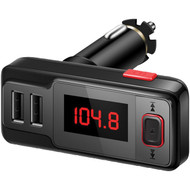 Supersonic IQ-223BT Bluetooth FM Transmitter with Dual USB Ports